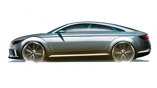 10.11.2018 ::: Audi TT dobija radikalne promene - dobija četvora vrata!