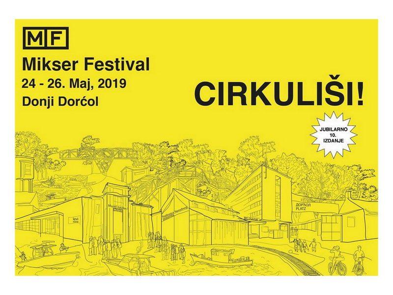 10. Mikser festival 2019: CIRKULIŠI!