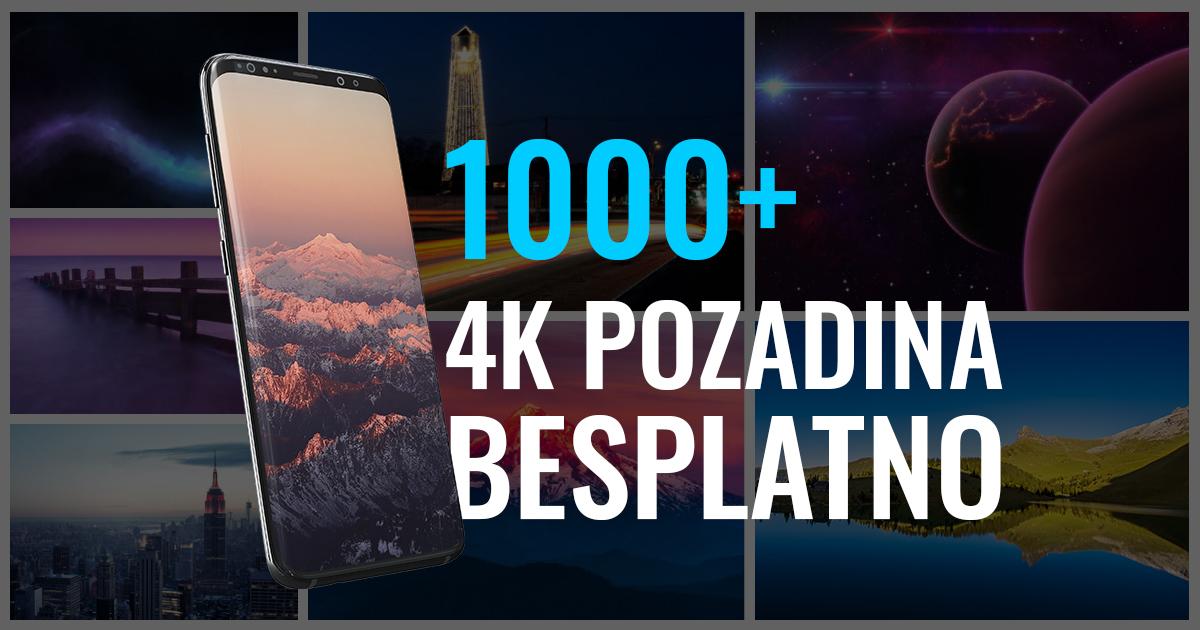1000+ pozadina za telefon u 4K rezoluciji! (zip, besplatno)
