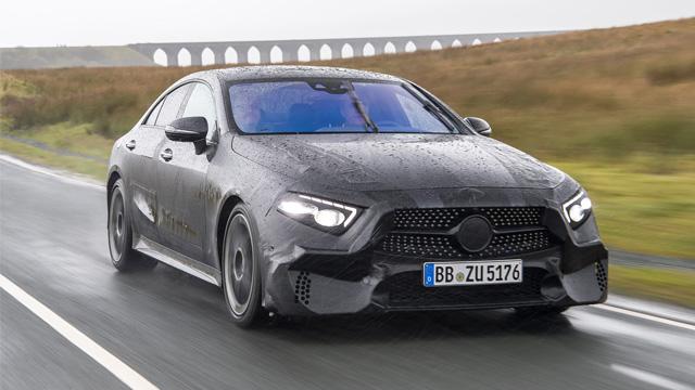 12.10.2017 ::: Novi Mercedes-Benz CLS (2018) kuca na vrata (FOTO)