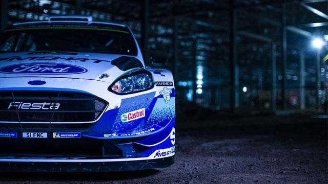 14.01.2020 ::: M-Sport nade polaže u mladost - prve fotografije Ford Fieste WRC za 2020. godinu (VIDEO)