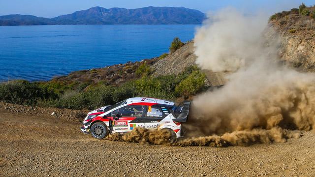 15.09.2018 ::: Rally Turkey 2018 - Toyota ubedljiva u Marmarisu