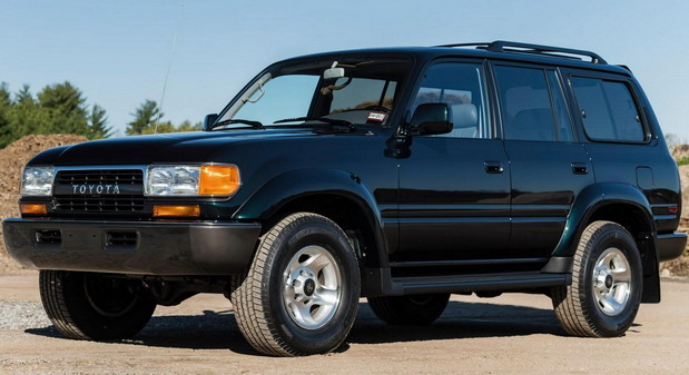 1994 Toyota Land Cruiser s 1600 km prodat za 136.000 dolara