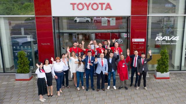 20.06.2021 ::: Toyota nagrađuje svoje najbolje partnere u Evropi - Ichiban 2021