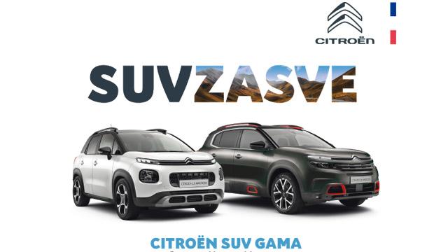 21.04.2021 ::: Citroen SUV modeli samo za najbrže - popusti do 2.400 evra