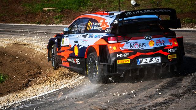 23.04.2021 ::: Rally Croatia 2021 - Neuville u vođstvi, Ogier osvojio 600. brzinski ispit (nove FOTO)