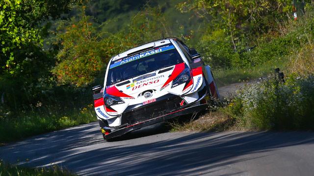23.08.2019 ::: ADAC Rallye Deutschland 2019 - Ott Tanak i Toyota ponovo dele lekcije