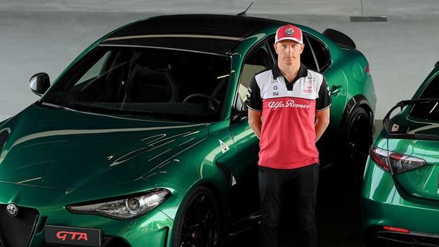 24.06.2021 ::: Kimi Raikonen testirao model Giulia GTA