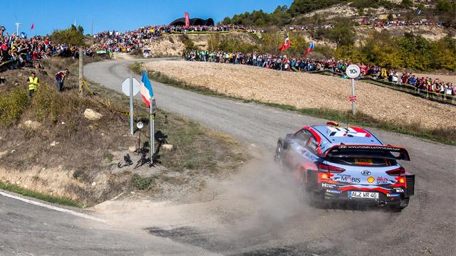 26.10.2019 ::: RallyRACC Catalunya 2019 - Neuville vodi, borba za titulu se dramatizuje (FOTO)
