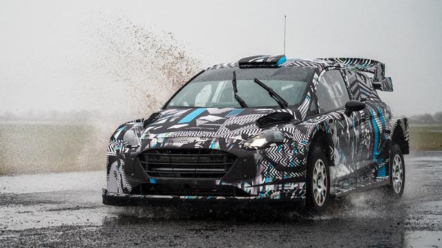 27.04.2021 ::: Test: Ford Fiesta Rally1 Hybrid WRC 2022 (VIDEO)