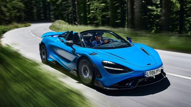 27.07.2021 ::: McLaren predstavio 765LT Spider - najbrži otvoreni McLaren ikada (FOTO)