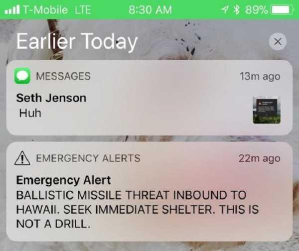 38 minuta haosa na Havajima, pritisnuto pogrešno dugme