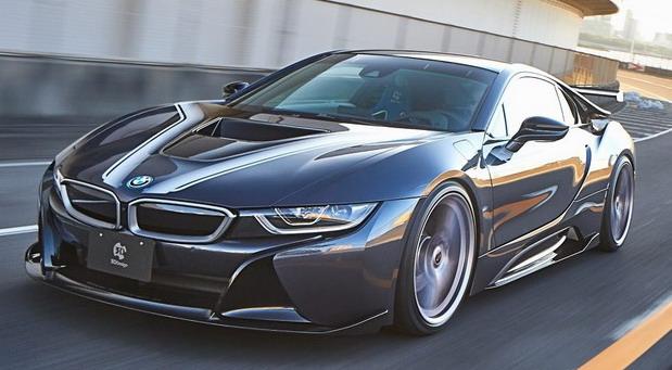 3D Design BMW i8
