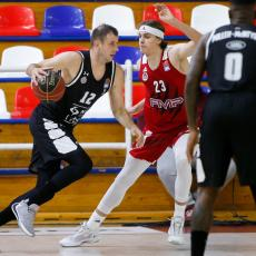 ABA LIGA: FMP izdržao poluvreme, Partizan trojkama do prvog trijumfa (VIDEO)
