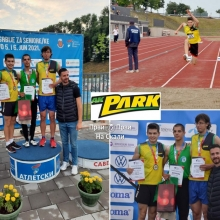 AK Park osvojio dve medalje na Prvenstvu Srbije