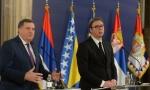 AKO KRENU DA NAM MENjAJU IME, ZVAĆEMO SE RS - ZAPADNA SRBIJA:  Dodik i Vučić o pokušaju osporavanja naziva Republike Srpske