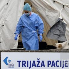 ALARMANTNO STANJE U CRNOJ GORI: Registrovano još 112 slučajeva koronavirusa, preminule četiri osobe