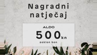 ALDO i CroModa nagrađuju te poklon bonom od 500 kuna