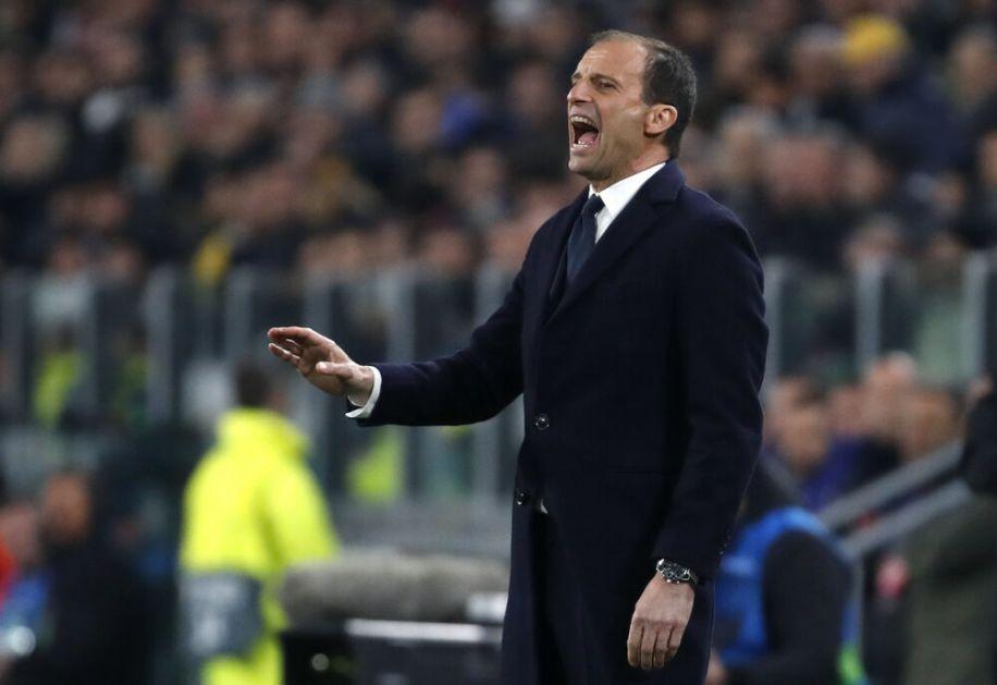 ALEGRI KIPTEO OD BESA! Trener Juventusa posle remija sa Milanom PSOVAO IGRAČE! (VIDEO)