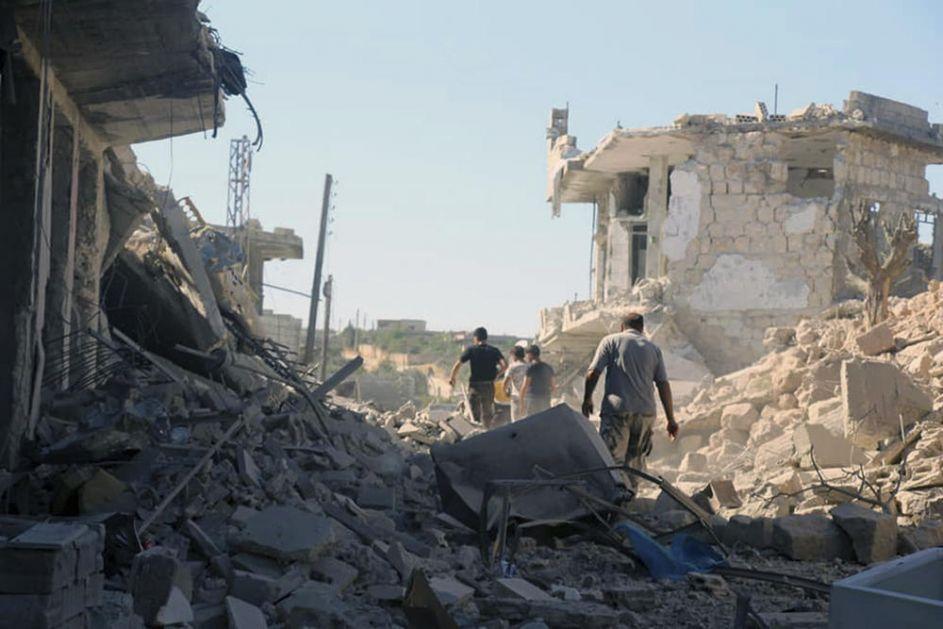 AMERIKANCI BOMBARDOVALI TERORISTE U IDLIBU, RUSIJA OPTUŽUJE: Ugrozili su tek postignuto primirje u Siriji! Žrtava ima mnogo, a nisu nikog upozorili!