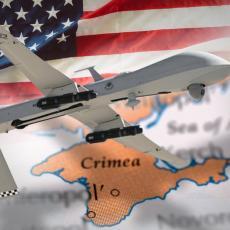 AMERIKANCI SE OPASNO PRIBLIŽILI RUSKOJ TVRĐAVI: Bespilotne letelice primećene kod Krima, ovo će RAZBESNETI RUSE (VIDEO)