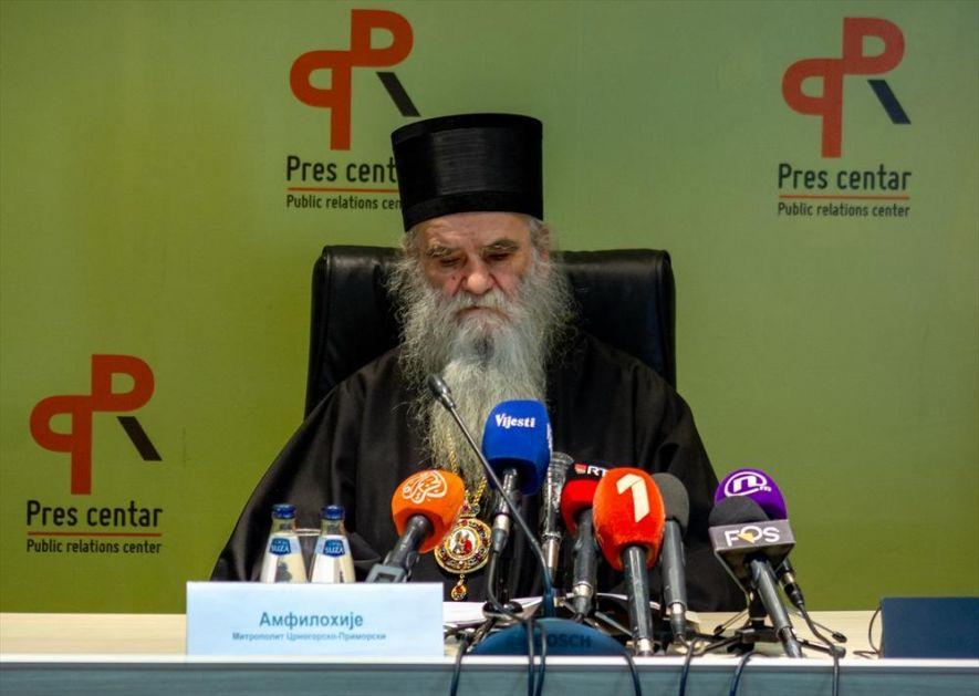 AMFILOHIIJE: Vlast da ne muči narod i sveštenstvo, već da to reše mojim likvidiranjem