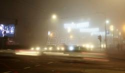 AMSS: Magla u većem delu Srbije smanjuje vidljivost i ispod 100 metara