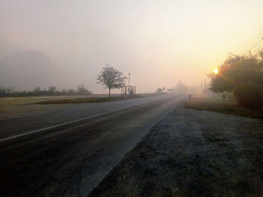 AMSS: Oprez zbog magle i slabog mraza