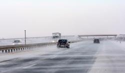 AMSS: Oprez zbog vetra i snega