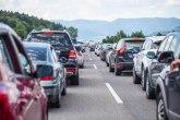 AMSS upozorava: Popodne gužve u saobraćaju