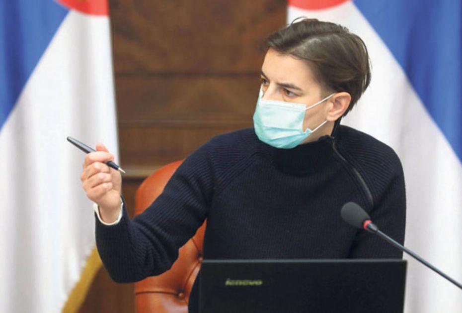 ANA BRNABIĆ TESTIRANA NA KORONU: Posle slučaja u Ministarstvu životne sredine, premijerka na analizama