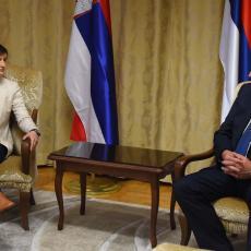 ANA BRNABIĆ U ISTOČNOM SARAJEVU: Premijerka se sastala sa predsednikom Vlade Republike Srpske