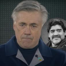 ANĆELOTI NA IVICI PLAČA: Legendarni Italijan pred utakmicu pustio suzu zbog Maradone (VIDEO)