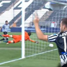ANDRIJA POTPISAO PRESUDU: Vidite Živkovićev gol u 91. minutu derbija Grčke - DŽELAT velikog rivala (VIDEO)