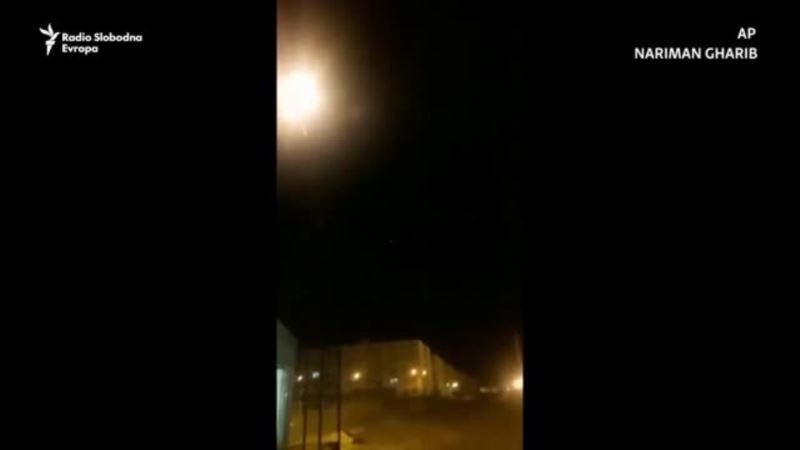 AP: Snimak obaranja ukrajinskog aviona