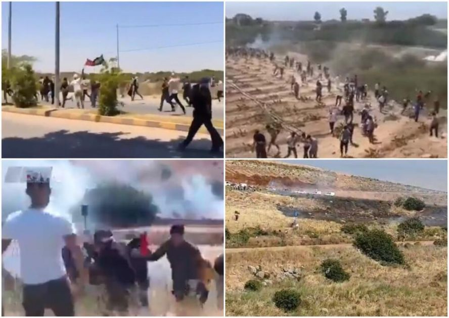 ARAPSKI SVET SE DIGAO: Jordanci i Libanci masovno prelaze granicu da podrže Palestince, žestoki okršaji na Zapadnoj obali VIDEO