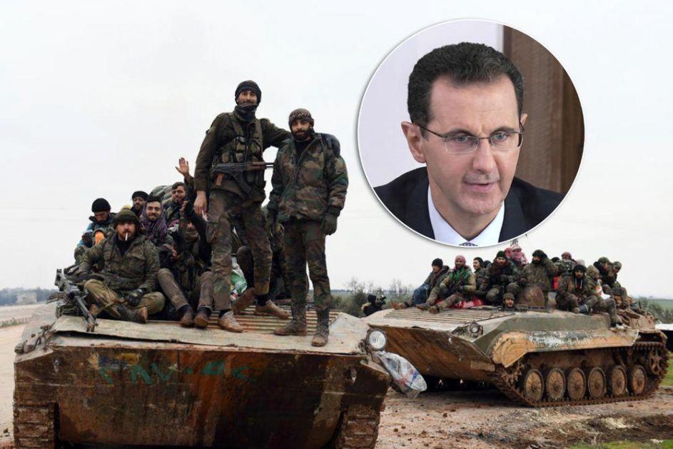 ASAD POSLE OSLOBOĐENJA ALEPA: Ovo nije kraj rata, ali je uvod u TOTALNI PORAZ TERORISTA!