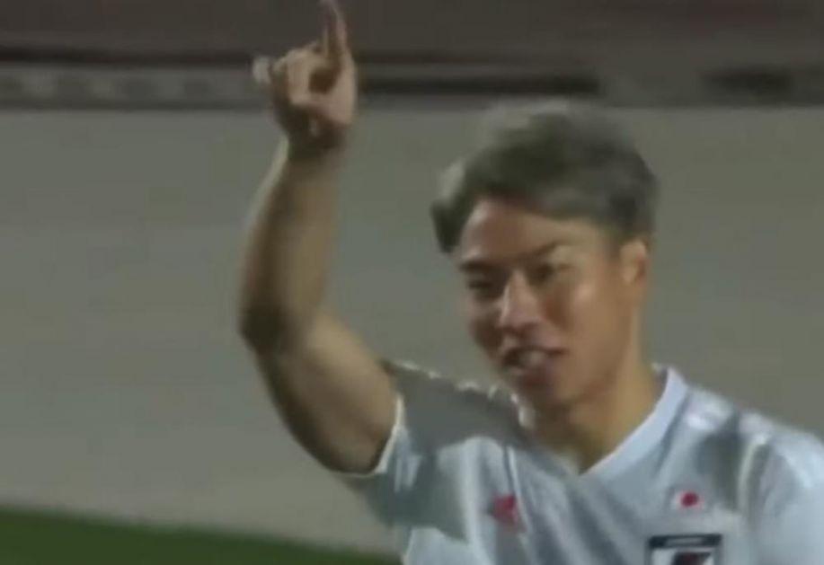 ASANO STRELAC ZA JAPAN: Fudbaler Partizana se vratio u reprezentaciju i odmah zatresao mrežu (VIDEO)