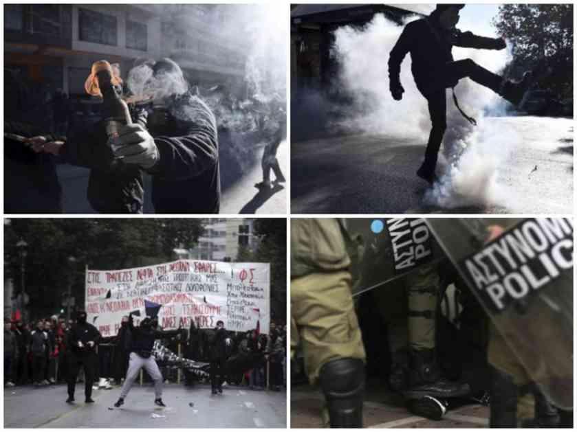 ATINA U PLAMENU: Masovne demonstracije zbog ubistva tinejdžera, napadnuta i specijalna policija (VIDEO)