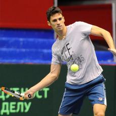 ATP NUR-SULTAN: Ćaćić odmah završio takmičenje u dublovima