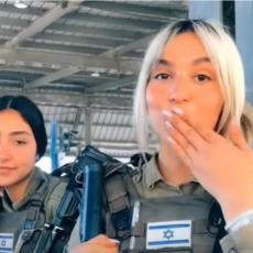 ATRAKTIVNE IZRAELKE POD PUNOM RATNOM OPREMOM: Šalju poljupce, spremne za RAT, Hamasovci će padati pod njima (VIDEO)