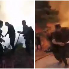 AZERI BEŽALI GLAVOM BEZ OBZIRA: Vatrogasci došli kao ispomoć u Tursku, a onda se propisno obrukali (VIDEO)