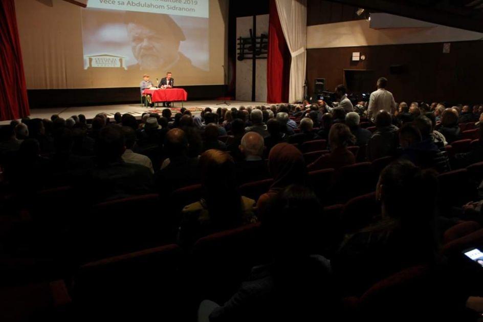 Abdulah Sidran pred rožajskom publikom