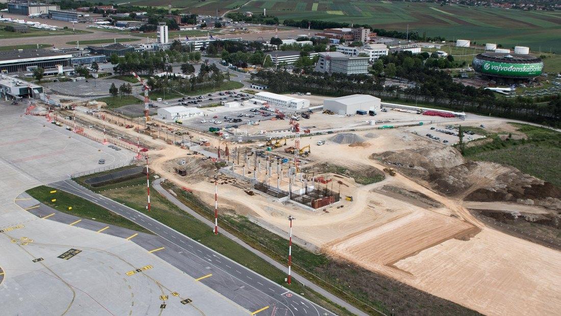 Aerodrom Nikola Tesla: Gradi se nova pista, proširenje terminala, dodatna parking mesta…