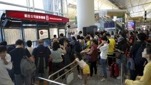 Aerodrom u Hongkongu od jutros radi normalno