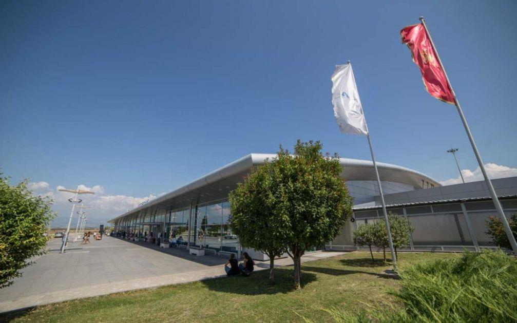 Aerodromi Crne Gore gube 14,1 miliona eura zbog sporova sa radnicima