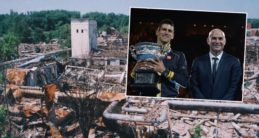 Agasi bodri Novaka podsećajući ga na NATO bombardovanje: Čistio je gelere sa terena, siguran sam da zna koliko je život težak!