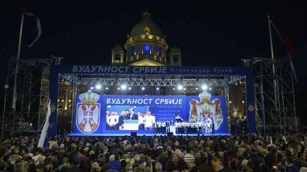 Agencije i mediji u regionu o skupu u Beogradu
