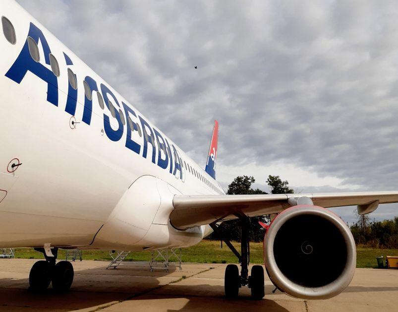 Air Serbia povećala broj letova prema Crnoj Gori