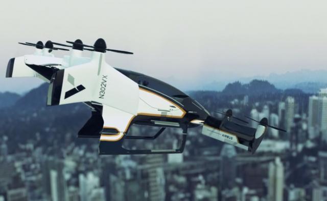 Airbusov leteći taksi: Veštačka inteligencija u službi prevoza